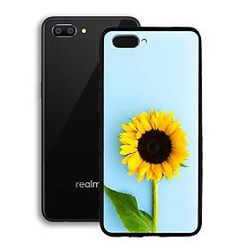 Ốp lưng mẫu đẹp cho điện thoại Realme C1 - Viền dẻo - 02093 0325 SUNFLOWER05 - hoa Hướng Dương - Hàng Chính Hãng