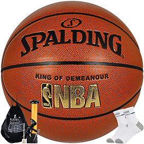 Spalding Spalding 76-167Y NBA game with blue ball PU material indoor and outdoor basketball