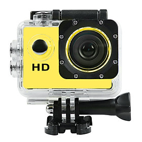 Outdoor Aerial Photography Mini Digital Sports Camera Camera 2.0 Inch Waterproof Sports Dv Sj4000 Yellow