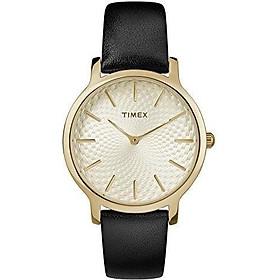 Timex Women's TW2R36200 Metropolitan 34mm Silver-Tone Stainless Steel Mesh Bracelet Watch