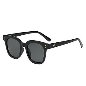 Gọng kính mát nữ nam râm đen chống nắng, mắt kính thời trang du lịch đi biển K018 thu_sam_shop