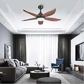 Đèn quạt LED SHIO trang trí nội thất hiện đại 3 chế độ ánh sáng