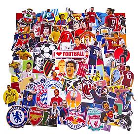 Set 100 Sticker - Football