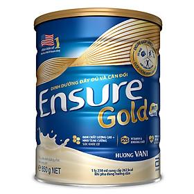 Sữa Bột Abbott Ensure Gold ESLA Dinh Dưỡng Đầy Đủ Và Cân Đối (850g)