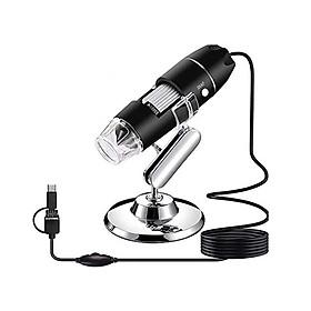 Bộ Kính Hiển Vi Kỹ Thuật Số Digital Microscope 1000X Hỗ Trợ Kết Nối OTG Với Điện Thoại Android Cao Cấp AZONE