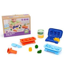 Bộ đồ chơi bột nặn sáng tạo làm đồ chơi Green Toys cho bé từ 2 tuổi