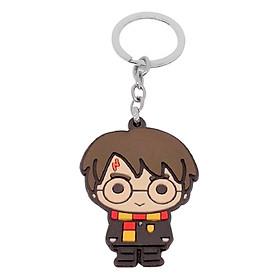 Móc Khóa Harry Potter 2 Mặt Hình Khắc Nổi - Harry Potter