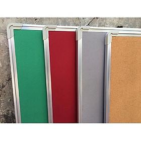 Bảng ghim nỉ gắn tài liệu treo tường 40x60cm (Tặng hộp ghim 35 chiếc)