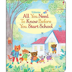 Usborne All You Need To Know Before You Start School (Board book)