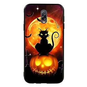 Hình đại diện sản phẩm Ốp lưng Halloween viền TPU cho điện thoại Samsung Galaxy J7 Plus - Mẫu 05