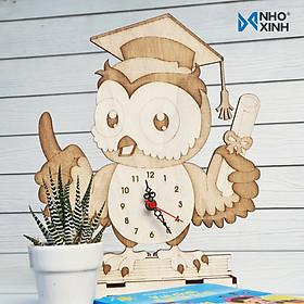 Biểu đồ lịch sử biến động giá bán Đồng hồ để bàn làm việc, bàn học -  Cú tốt nghiệp - quà tặng ý nghĩa cho bạn bè, người thân