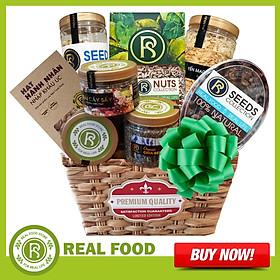 Giỏ Quà Sức Khỏe: An Khang 9 Món Cao Cấp Real Food Store