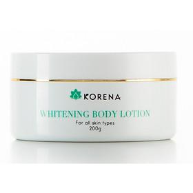 Kem dưỡng trắng da toàn thân Whitening Body Lotion Korena-200ml