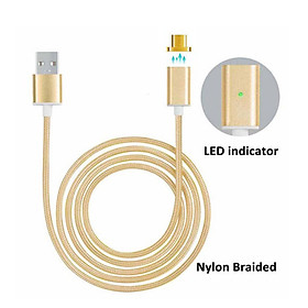Magnetic USB Adapter Data Charger Charging Cable Cord For Android Samsung