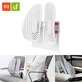 Tựa lưng công thái học Xiaomi Youpin Leband, tựa lưng năng động, thoáng khí và thoải mái, mát xa lưng, thích hợp làm tựa lưng trong nhà và ô tô, tựa lưng lưới