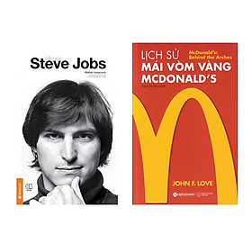 Combo Lịch Sử Mái Vòm Vàng - Mcdonald's + Tiểu Sử Steve Jobs