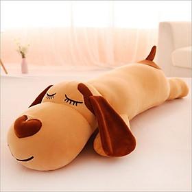 Gấu bông gối ôm chó dài - Gấu bông cao cấp siêu dễ thương - Thú bông đồ chơi ngộ nghĩnh