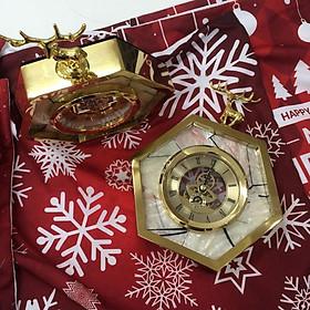 Đồng hồ Hươu để bàn màu vàng (1 chiếc)