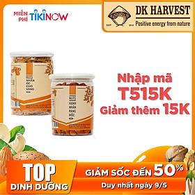 COMBO SIÊU TIẾT KIỆM - 1 Hũ Hạt Hạnh Nhân DK Harvest 250g + 1 Hũ Hạt Óc Chó DK Harvest 200g