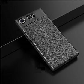Ốp lưng cho Sony Xperia XZ1 silicon giả da, chống sốc chính hãng Auto Focus