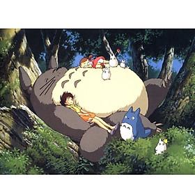 Tranh ghép hình 1000 mảnh gỗ - Totoro hàng xóm của tôi