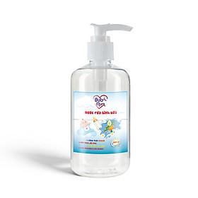 Nước rửa bình sữa 250ml BuB&MuM công dụng diệt khuẩn, làm sạch, ngăn ngừa vi khuẩn giúp bình sữa của bé luôn tỏa hương thơm với mùi hương dễ chịu…
