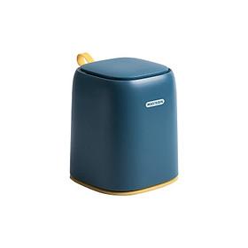 Thùng đựng rác mini để bàn làm việc, bàn trang điểm,bàn ăn, phòng ngủ ,....tiện dụng tặng kèm 01 cuộn túi đựng rác