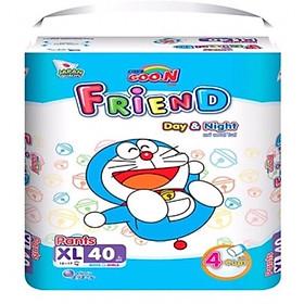 Tã Quần GOON Friend XL40 [Tặng 5 miếng cùng loại] Mẫu Mới