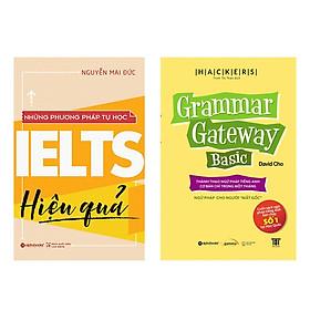 Combo Sách: Những Phương Pháp Tự Học IELTS Hiệu Quả + Hackers Grammar Gateway Basic