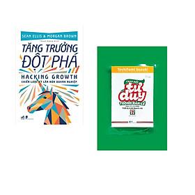 Combo 2 cuốn sách: Tăng trưởng đột phá - Hacking Growth  + Thay đổi tư duy trong bán lẻ