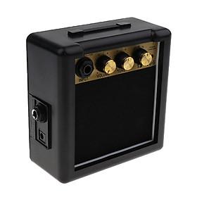 Sunnimix 5 Watt 9V Mini Điện Acoustic Guitar Thực Hành AMP Cho Solo Performance120x120x60mm