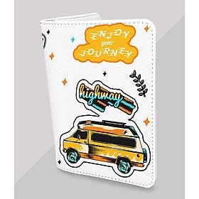 Ví Đựng Passport du lịch - Bao Da Hộ Chiếu Thời Trang - Passport Holder - WANDERLUST ADVENTURE PP075