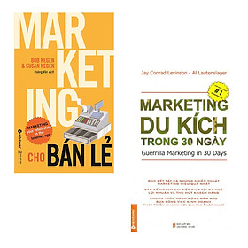 Combo For Marketer: Marketing Cho Bán Lẻ + Marketing Du Kích Trong 30 Ngày