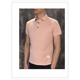 Áo thun Polo Nam trơn có cổ tay ngắn lịch lãm chất liệu vải cotton cao cấp co giãn nhẹ mặc thoải mái thoáng mát dễ phối đồ hợp với xu hướng thời trang