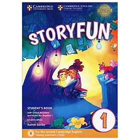 Storyfun for Starters 1 - SB w Online Act & Home Fun Bkl