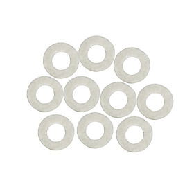 10Pcs White Trumpet Press Pads for Trumpet Repair Replacement Parts