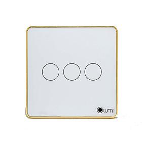 Công tắc cảm ứng vuông điều khiển cửa cuốn Lumi LM-S3D - Trắng