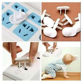 Combo 10 nút bịt ổ điện chống giật an toàn cho bé