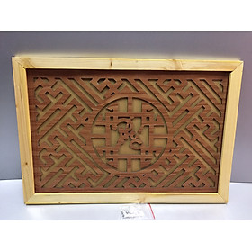 Tấm chống ám khói chữ Phúc ( trang trí lắp trên ban thờ treo tường)