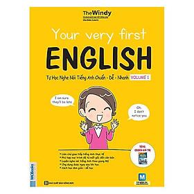 Tự Học Nghe Nói Tiếng Anh Chuẩn Dễ Nhanh Tập 1 (Tặng Kèm Booksmark)