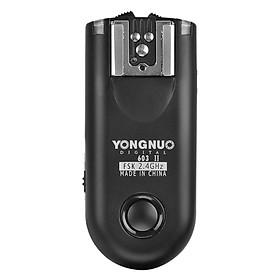Bộ Kích Đèn Trigger Yongnuo YN603 II Lẻ 1 Cục - Hàng Nhập Khẩu
