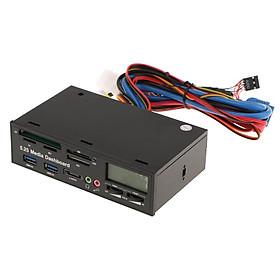 5.25 Máy Tính Đa Năng Bảng Điều Khiển Phương Tiện Truyền Thông Mặt Trước Với ESATA USB3.0