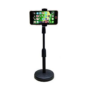 Chân đỡ 2 KẸP điện thoại sử dụng LIVESTREAM, QUAY VIDEO tăng giảm chiều cao .