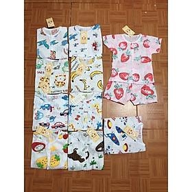 sét 5 Bộ cotton giấy mềm cộc tay cho bé cho bé sơ sinh đến 15kg
