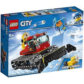 Bộ lắp ráp Xe Bánh Xích Dọn Tuyết - LEGO City 60222 (127 Chi Tiết)