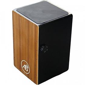 Cajon màu nâu gỗ CJAB - Trống dễ chơi đánh nhạc rock, sôi động có tay căn chỉnh âm