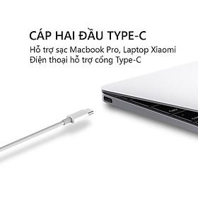 Dây Cáp Sạc Xiaomi ZMI USB Type-C to USB Type-C 60W AL307 1m - Hàng chính hãng