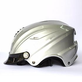 Mũ Bảo Hiểm Nửa Đầu Lưỡi Chai A760T _ Có lỗ thông gió thoáng khí, nhiều màu, kiểu dáng hợp thời trang
