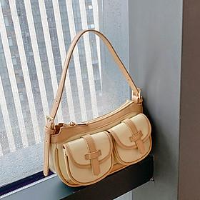 Túi đeo vai nữ Micocah 2020 thiết kế phong cách retro đơn giản (HSE457) (M379)