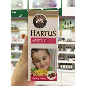 Siro Hartus Appetite 150ML - Cải Thiện Chứng Biếng Ăn Của Trẻ Nhỏ